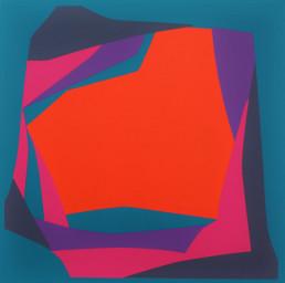 """Ventana Horizonte No. 1"", 35"" x35"", acrylic-canvas, $4800"